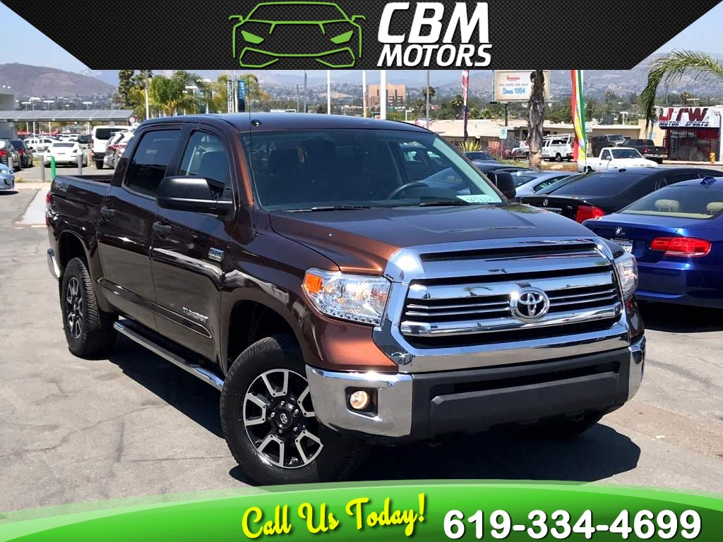 2016 Toyota Tundra 4WD Truck SR5 TRD OFFROAD W/ BACK UP CAMERA/ BLUETOOTH