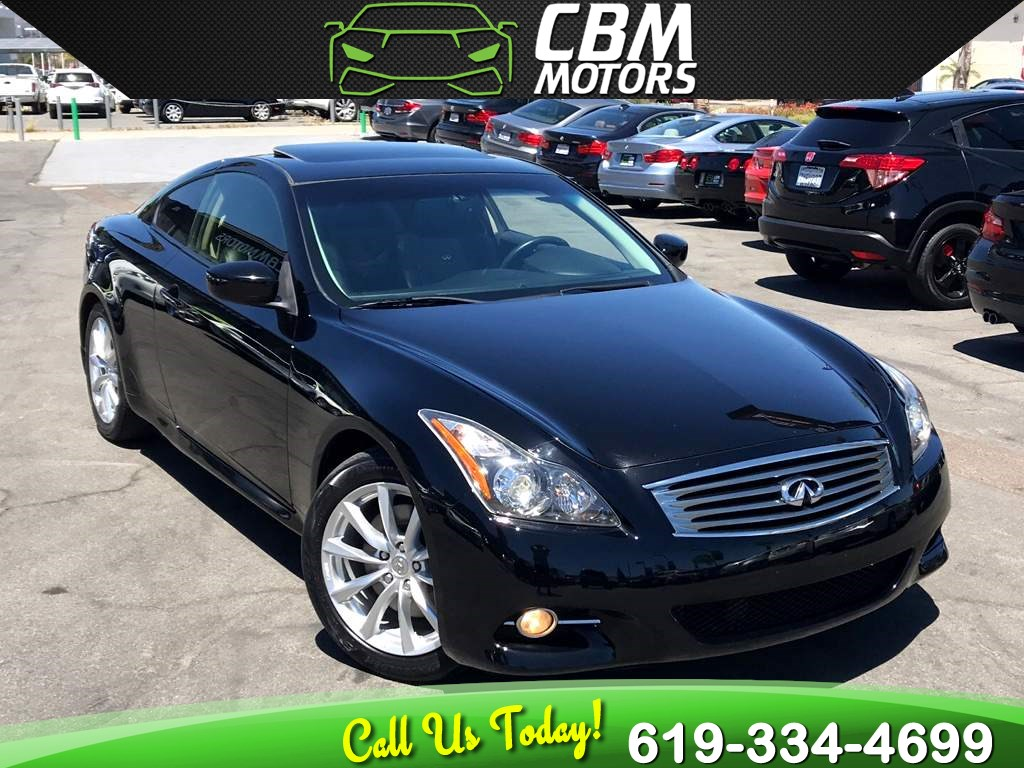 2013 INFINITI G37 Coupe Journey W/ NAV/ BACK UP CAMERA/ MOONROOF