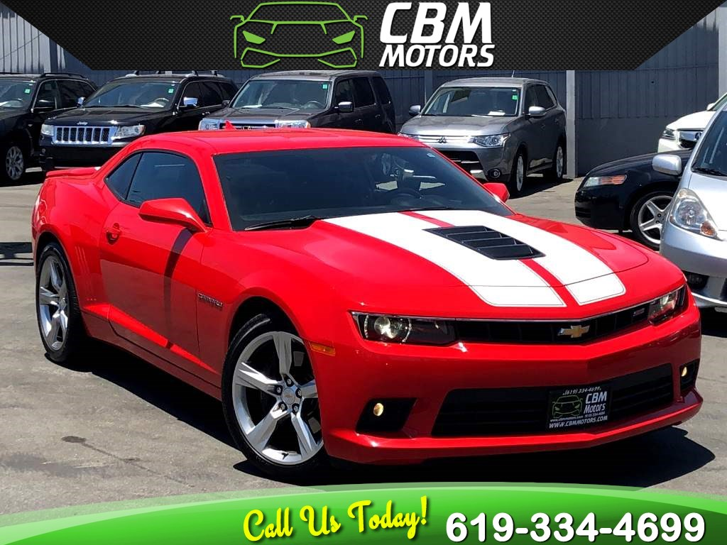 2014 Chevrolet Camaro SS w/ 1SS 6.2L MANUAL W/ BACK UP CAMERA/ BLUETOOTH