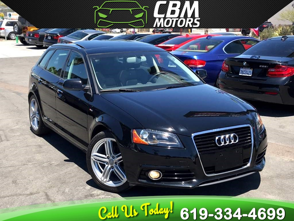 2012 Audi A3 2.0 TDI Premium Plus W/ PAN MOONROOF/NAV/LOW MILES