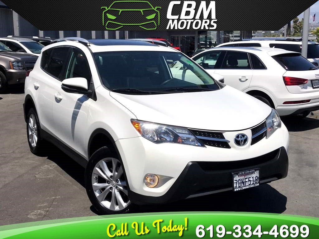 2014 Toyota RAV4 Limited W/ NAV/ BACK UP CAMERA/ BLUETOOTH