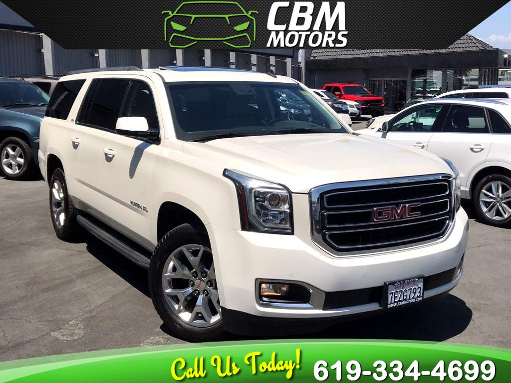 2015 GMC Yukon XL SLT W/ NAV/ BACK UP CAMERA/ 3RD ROW