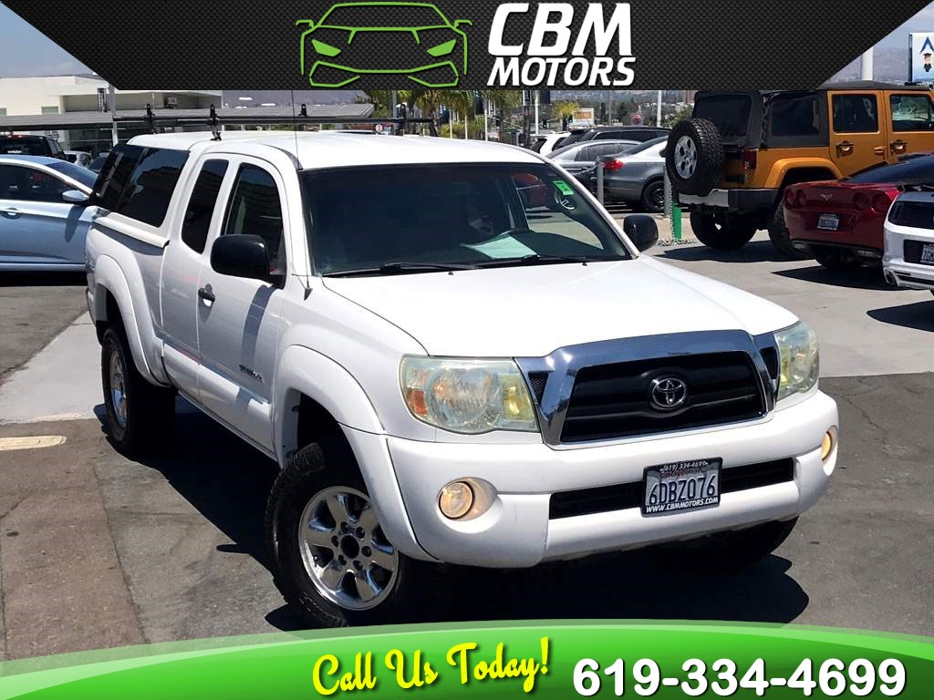 2006 Toyota Tacoma V6 4.0L ACCESS CAB 4X4 MANUAL W/NAV/BACK UP CAMERA