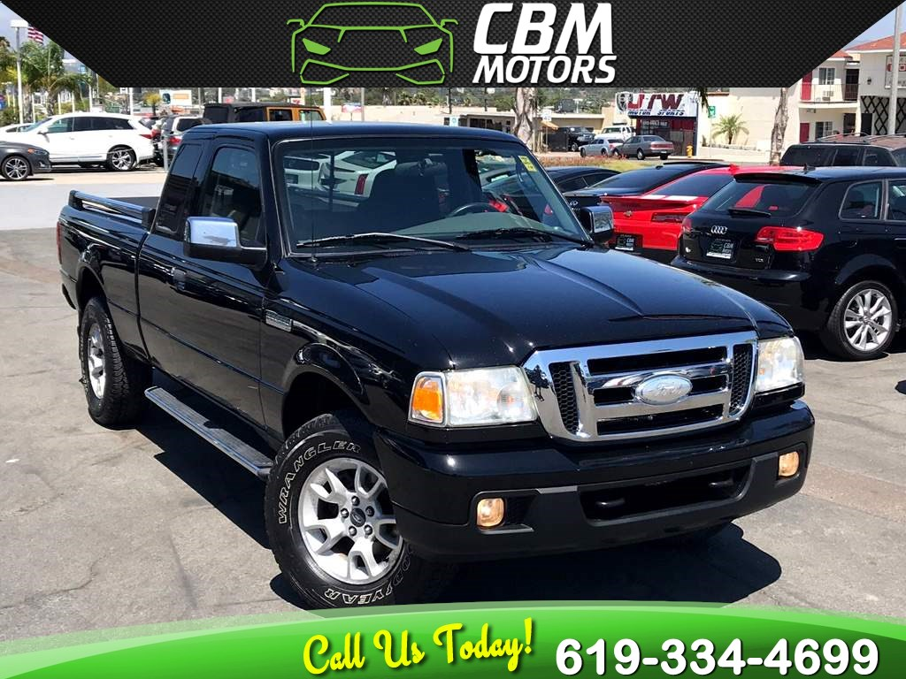 2007 Ford Ranger XLT 4WD W/ RUNNING BOARDS