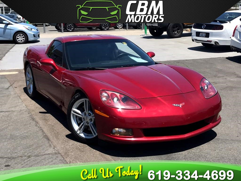 2008 Chevrolet Corvette 6.2L 6-SPEED MANUAL W/ TARGA ROOF/ SUPER LOW MILES