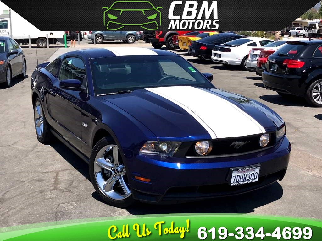 2012 Ford Mustang GT Premium 5.0L W/ BACK UP CAMERA/ SUPER LOW MILES
