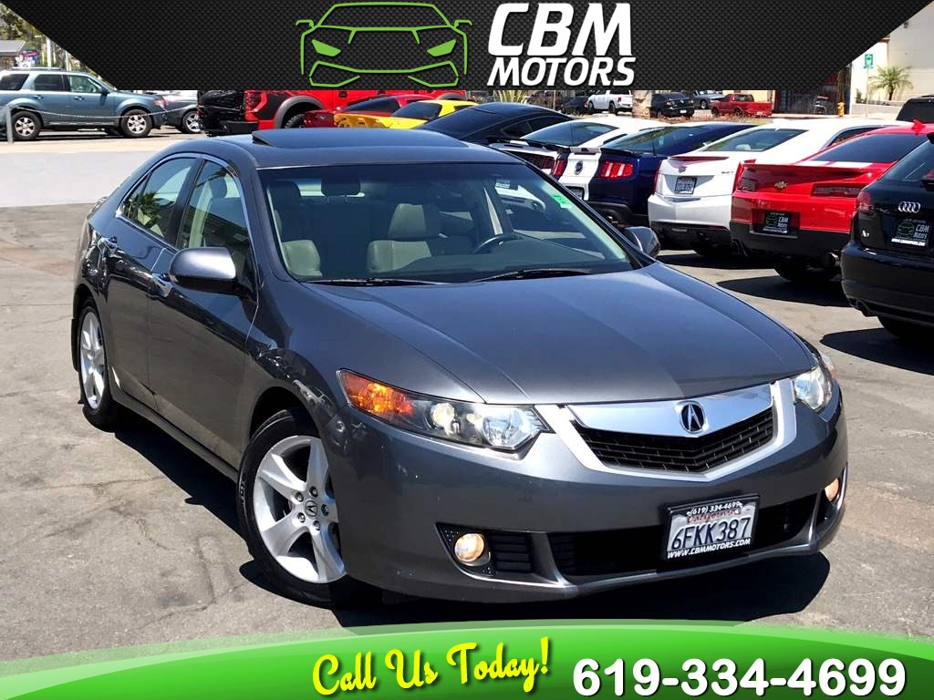 2009 Acura TSX W/ BLUETOOTH/ MOONROOF/ SUPER LOW MILES