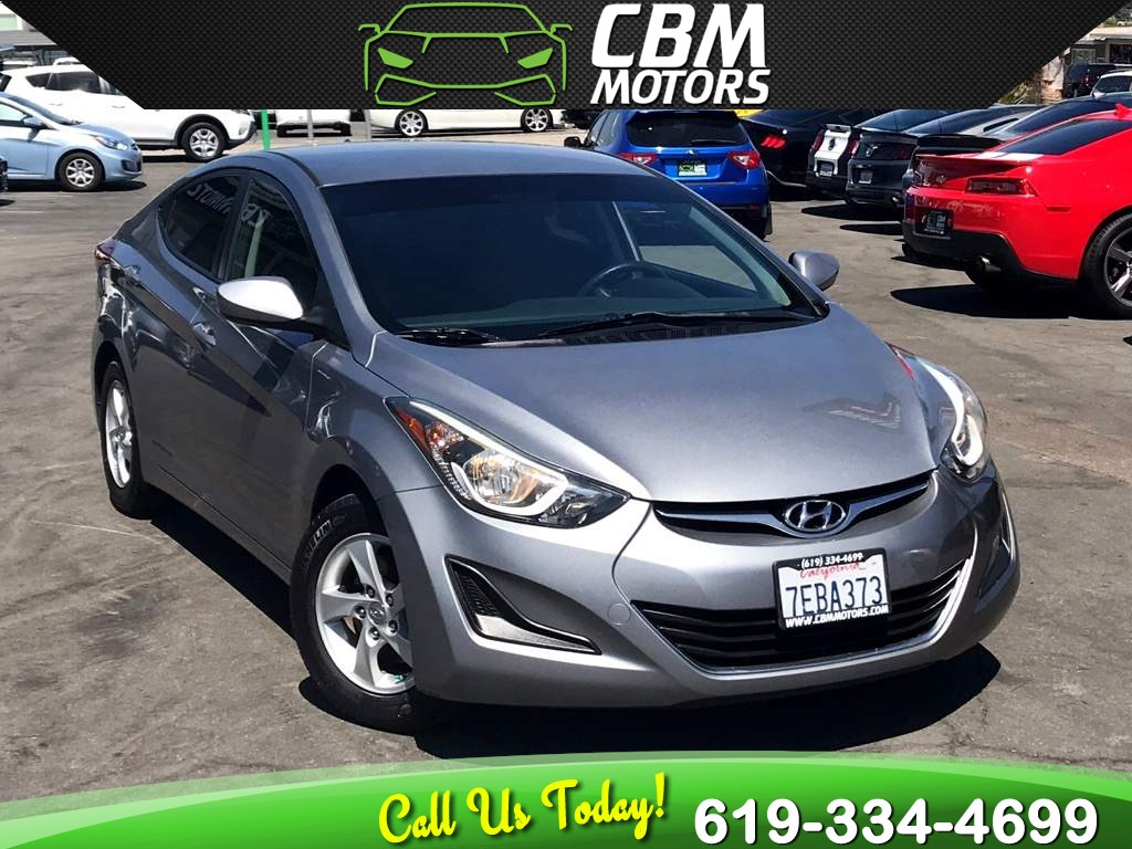 2014 Hyundai Elantra SE 6-SPEED MANUAL W/ BACK UP CAMERA/ BLUETOOTH
