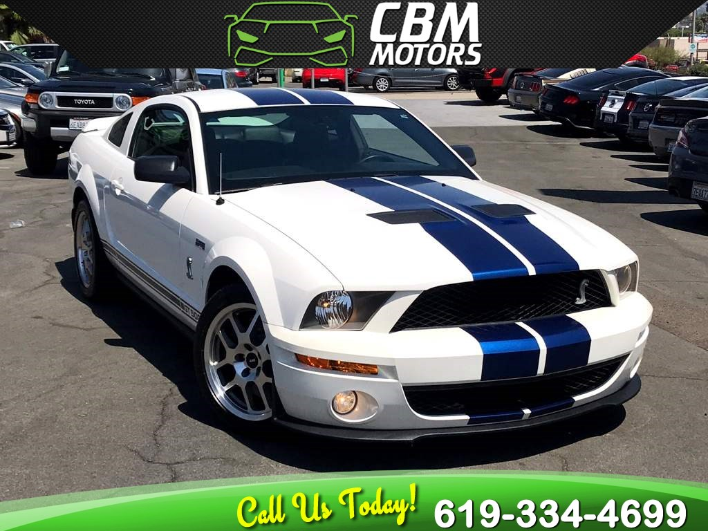 2009 Ford Mustang Shelby GT500 Cobra SUPERCHARGED 6-SPEED MANUAL W/ SUPER LOW MILES