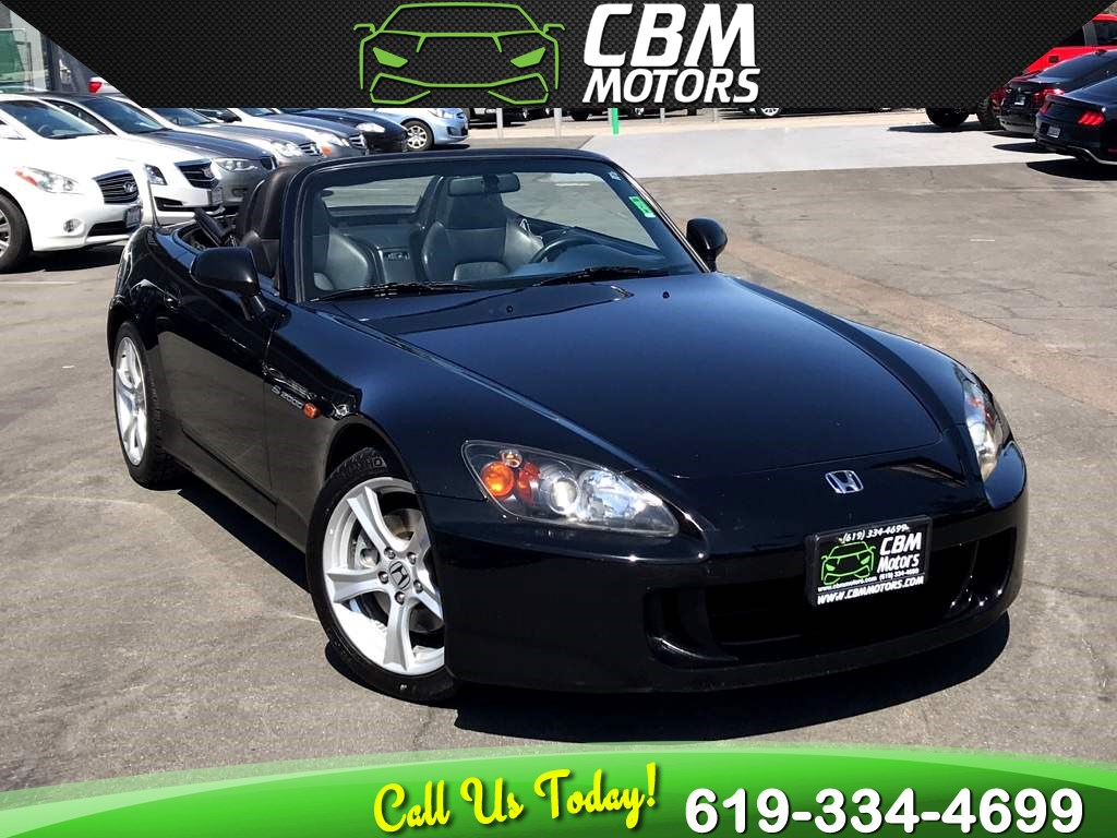 2008 Honda S2000 Vtec 6-SPEED MANUAL CONVERTIBLE W/ LOW MILES
