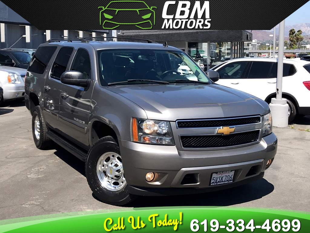 Sold 2007 Chevrolet Suburban 2500 Lt 6 0l V8 2wd W 3rd Row 1 Owner In El Cajon