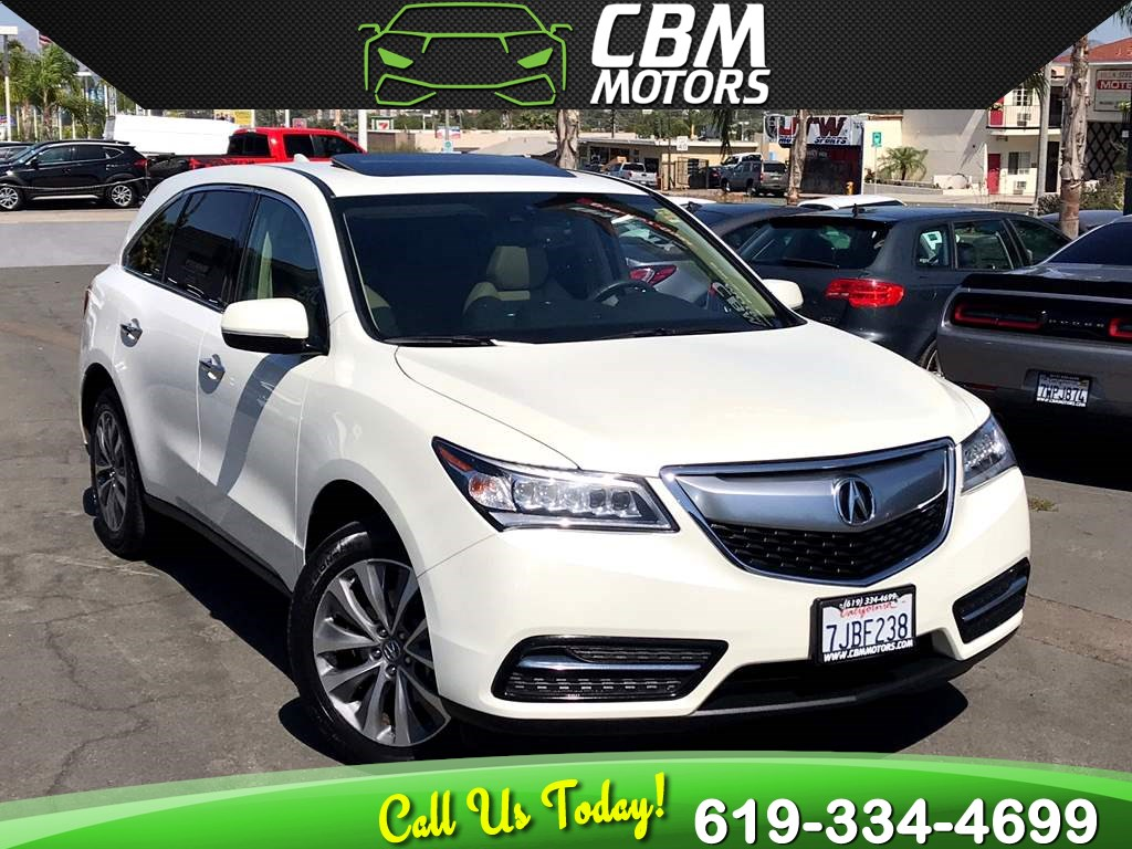 2015 Acura MDX 3RD ROW SEAT / TECH PKG / NAVIGATION