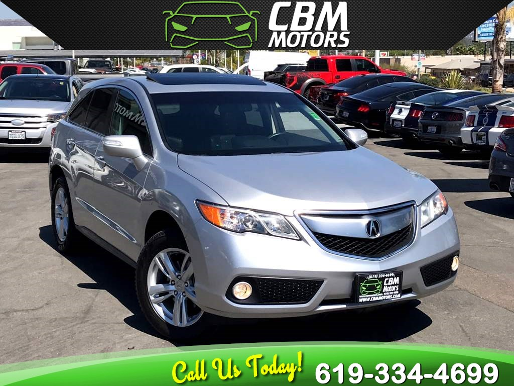 2015 Acura RDX W/ TECH PKG/ NAV/ BACK UP CAMERA/ MOONROOF