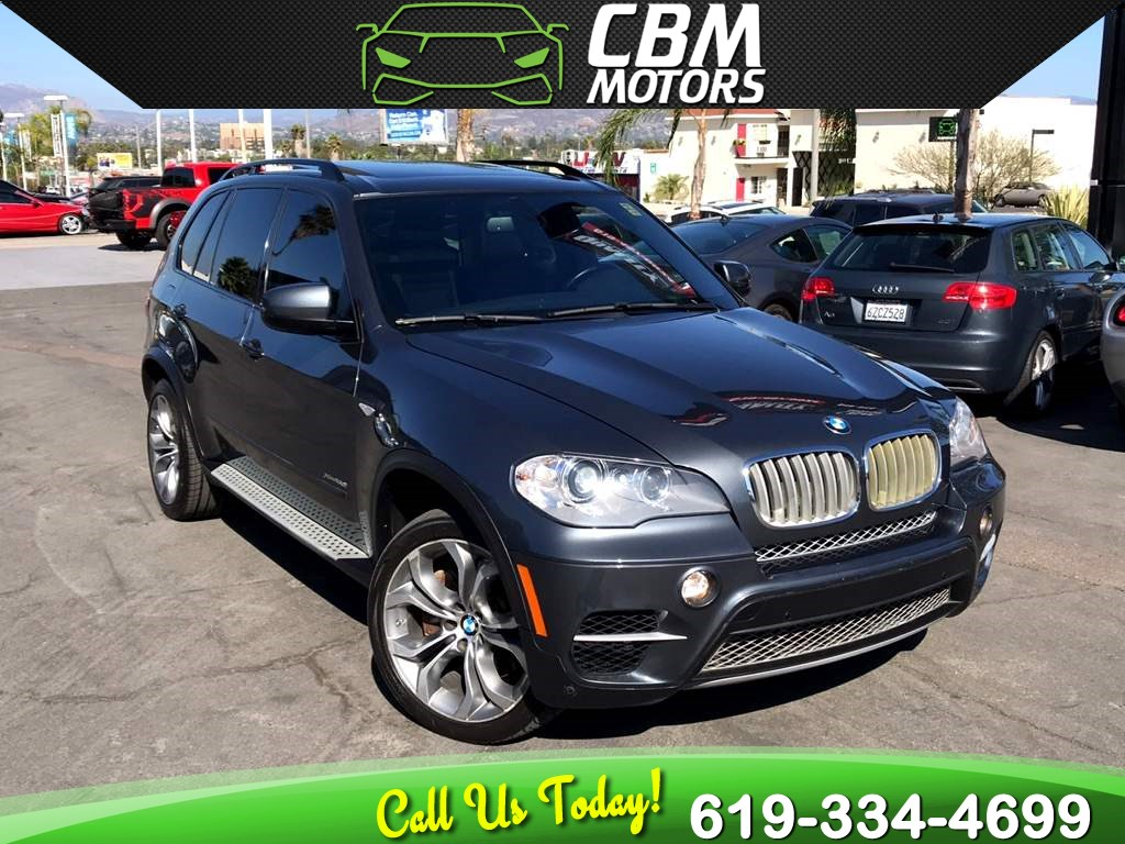 2013 BMW X5 xDrive50i AWD TURBOCHARGED W/ PAN MOONROOF/ NAV