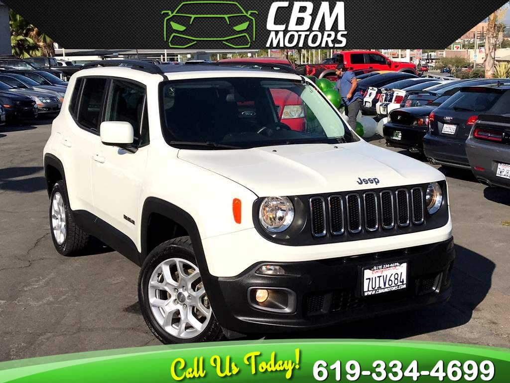 2016 Jeep Renegade Latitude 4WD W/ DUAL MOONROOF/ BACK UP CAMERA