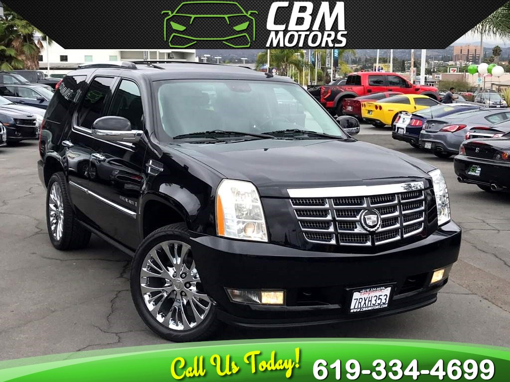 2008 Cadillac Escalade 6.2L W/ NAV/ BACK UP CAMERA/ MOONROOF/ DVD