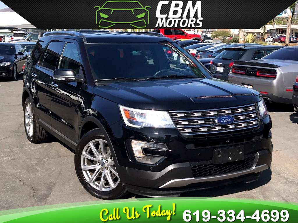 2016 Ford Explorer Limited W/ NAV/ BACK UP CAMERA/ 3RD ROW