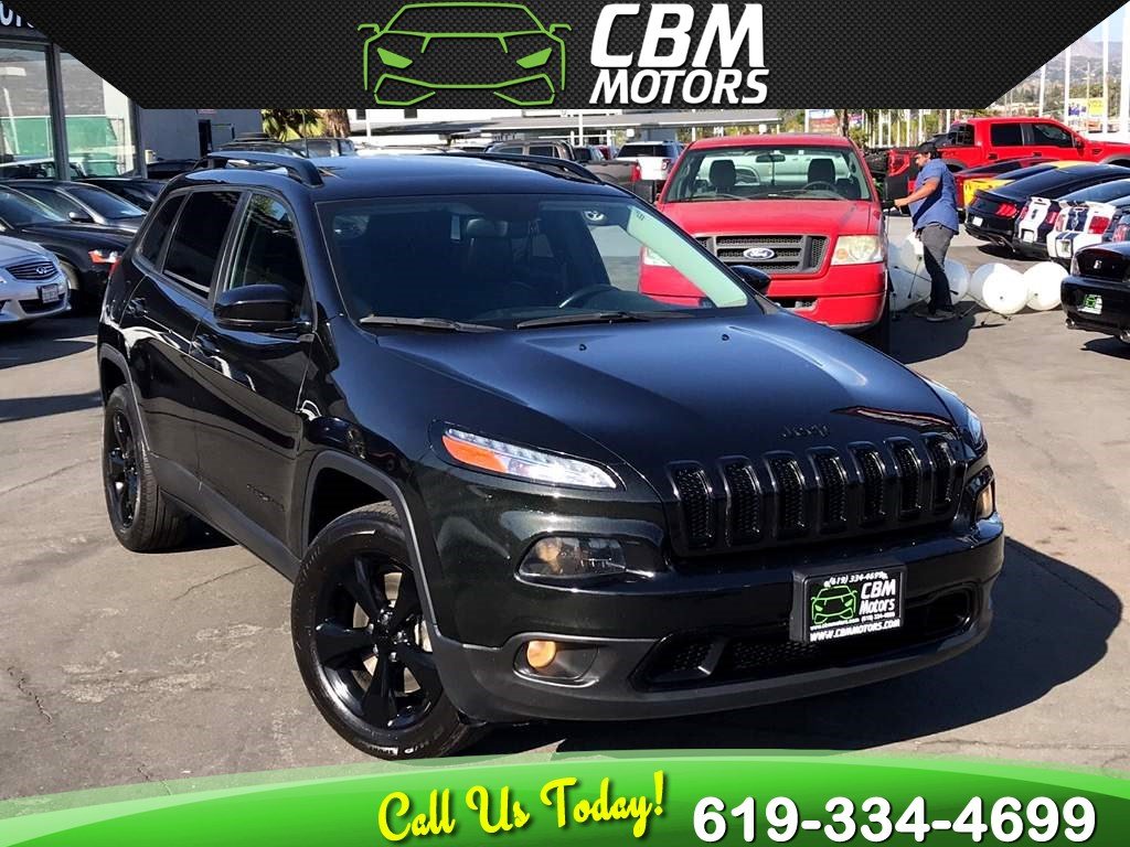 2016 Jeep Cherokee High Altitude 4WD W/NAV/BACKUP CAMERA/PAN MOONROOF