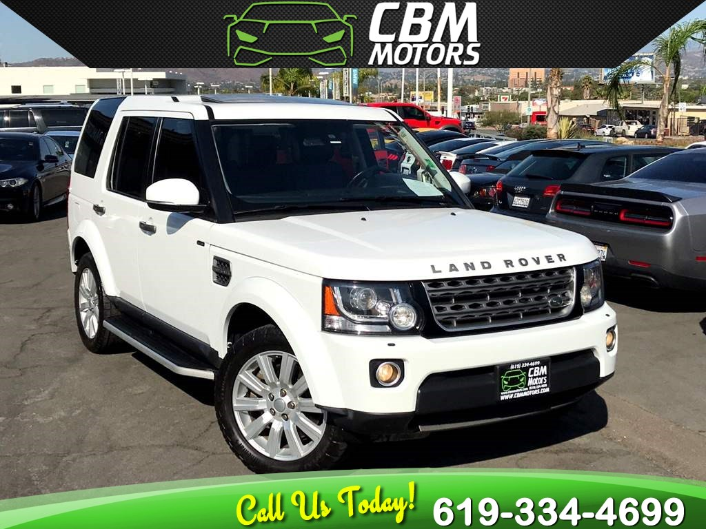 2016 Land Rover LR4 SUPERCHARGED V6 AWD W/ PAN MOONROOF/BACK UP CAMERA