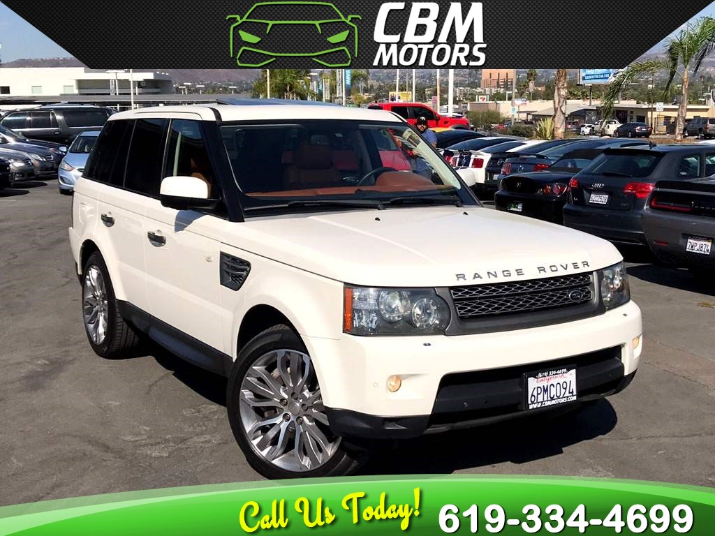 2010 Land Rover Range Rover Sport Supercharged 4X4 W/ NAV/ BACK UP CAMERA/ DVD