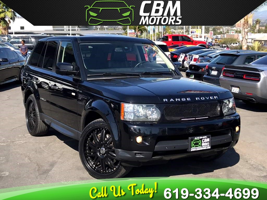 2011 Land Rover Range Rover Sport Supercharged STRUT EDITION 4X4 W/ NAV/ MOONROOF