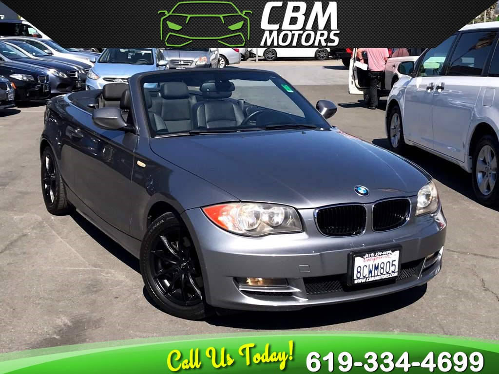 2011 BMW 1 Series 128i Convertible W/ BLUETOOTH/ LOW MILES