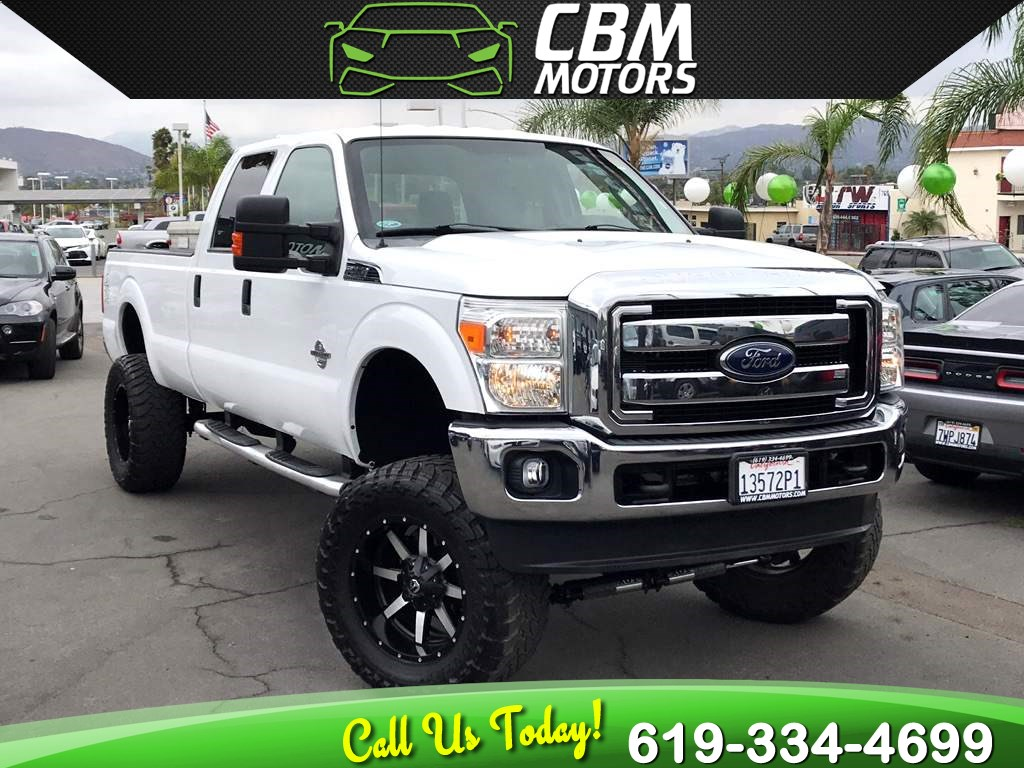 2014 Ford Super Duty F-350 SRW XLT Turbocharged 4x4 Crew Cab 8ft. L W/ Bluetooth