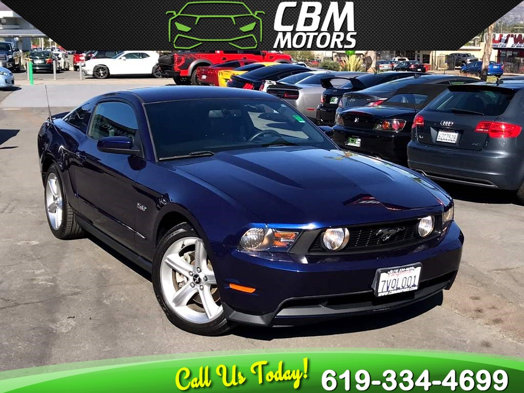 2011 Ford Mustang GT 5.0L 6-SPEED MANUAL W/ LOW MILES