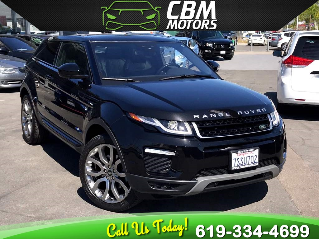 2016 Land Rover Range Rover Evoque SE Premium AWD TURBOCHARGED W/ NAV/ PAN MOONROOF