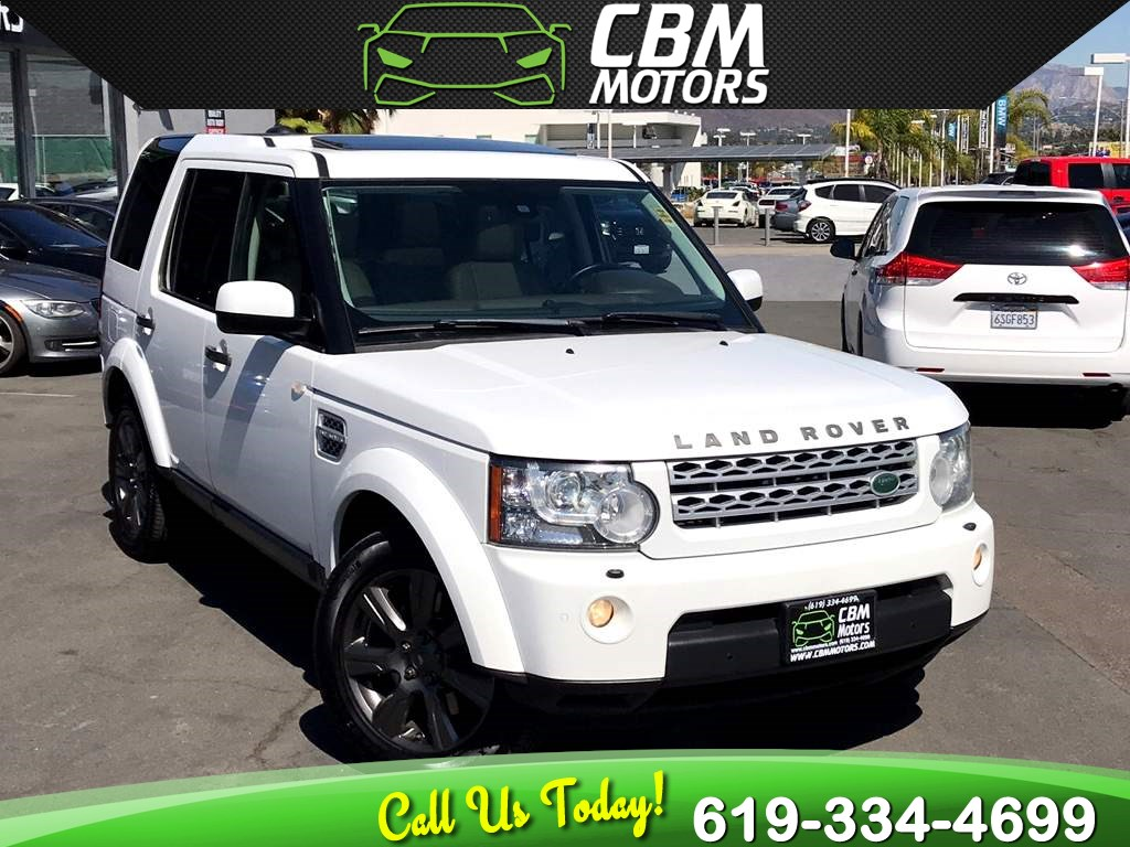 2013 Land Rover LR4 HSE LUX 4X4 W/ NAV/ PANO MOONROOF/ 3RD ROW