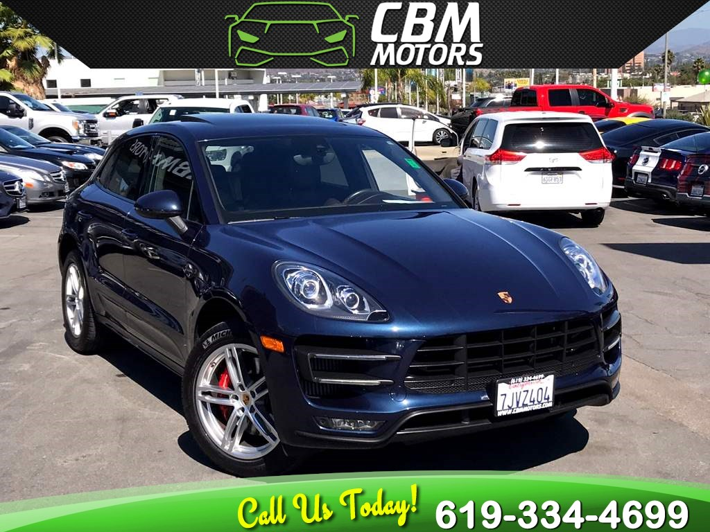 2015 Porsche Macan Turbo AWD W/ NAV/ PAN MOONROOF/ BACK UP CAMERA