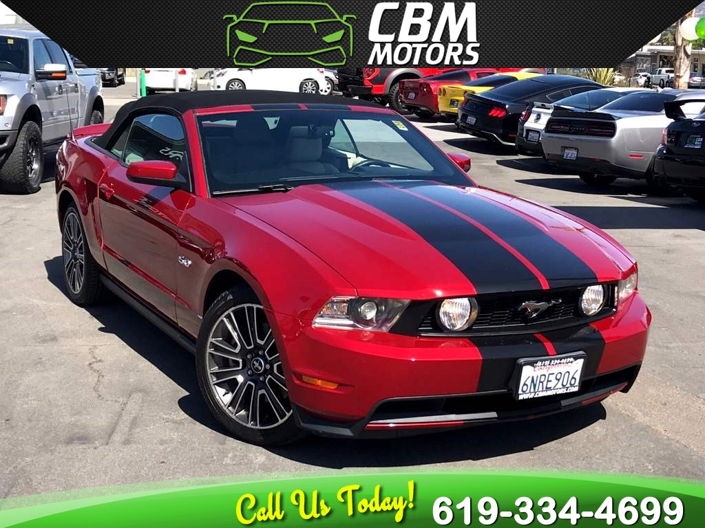 2011 Ford Mustang GT Premium 5.0L CONVERTIBLE W/ NAV/ BACK UP CAMERA
