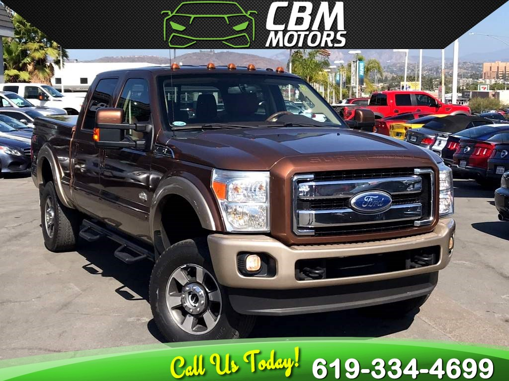 2011 Ford Super Duty F-350 SRW King Ranch 6.7L DIESEL 4X4 W/ NAV/ LOW MILES
