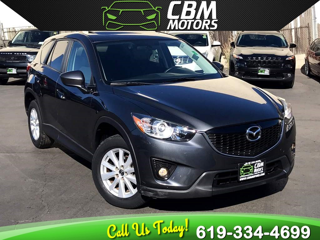 2014 Mazda CX-5 Touring W/ NAV/ MOONROOF/ BACK UP CAMERA