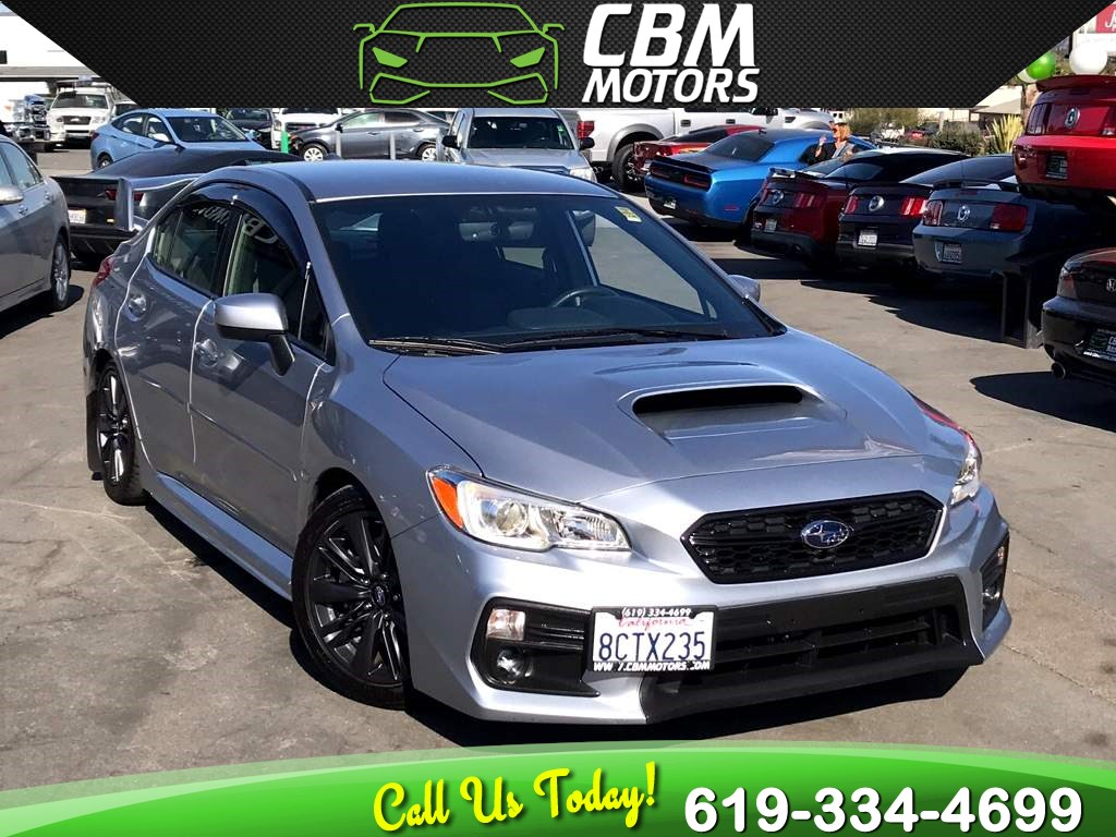 2018 Subaru WRX AWD 6-SPEED MANUAL W/ BACK UP CAMERA/ LOW MILES
