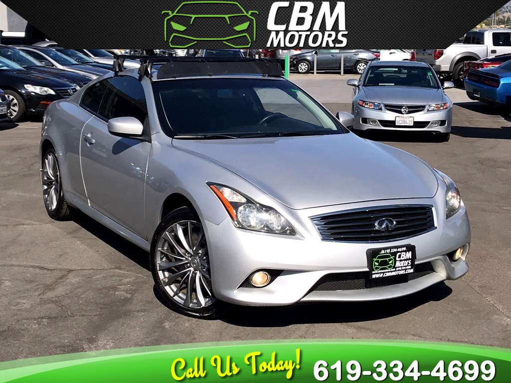 2011 INFINITI G37 Coupe x S AWD W/ PADDLE SHIFTERS/ NAV/ MOONROOF