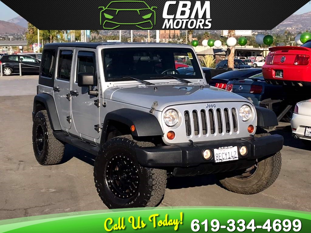 2012 Jeep Wrangler Unlimited Sport 4WD W/ TARGA ROOF/ BLUETOOTH