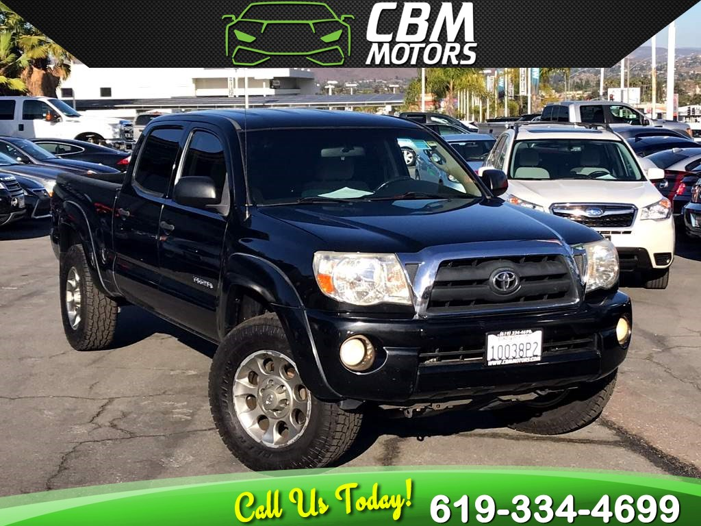 2007 Toyota Tacoma V6 SR5 4X4 DOUBLE CAB W/ LONG BED
