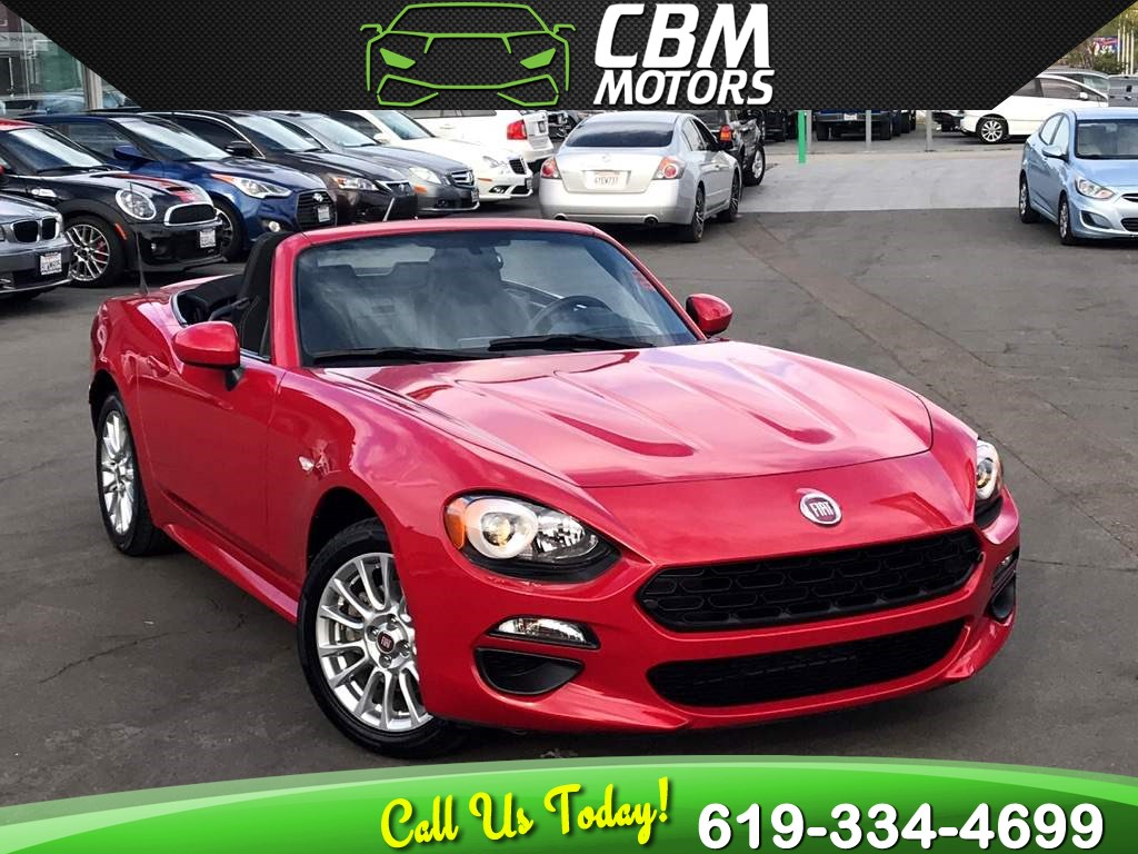 2017 FIAT 124 Spider Classica Convertible W/ Bluetooth