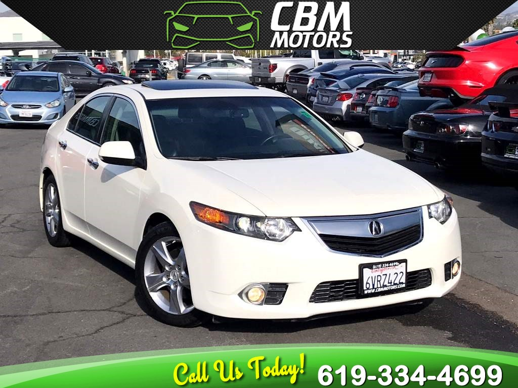 2011 Acura TSX W/ MOONROOF/ SUPER LOW MILES