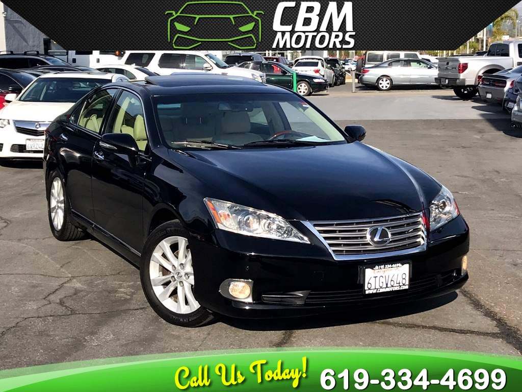 2011 Lexus ES 350 W/ NAV/ BACK UP CAMERA/ MOONROOF