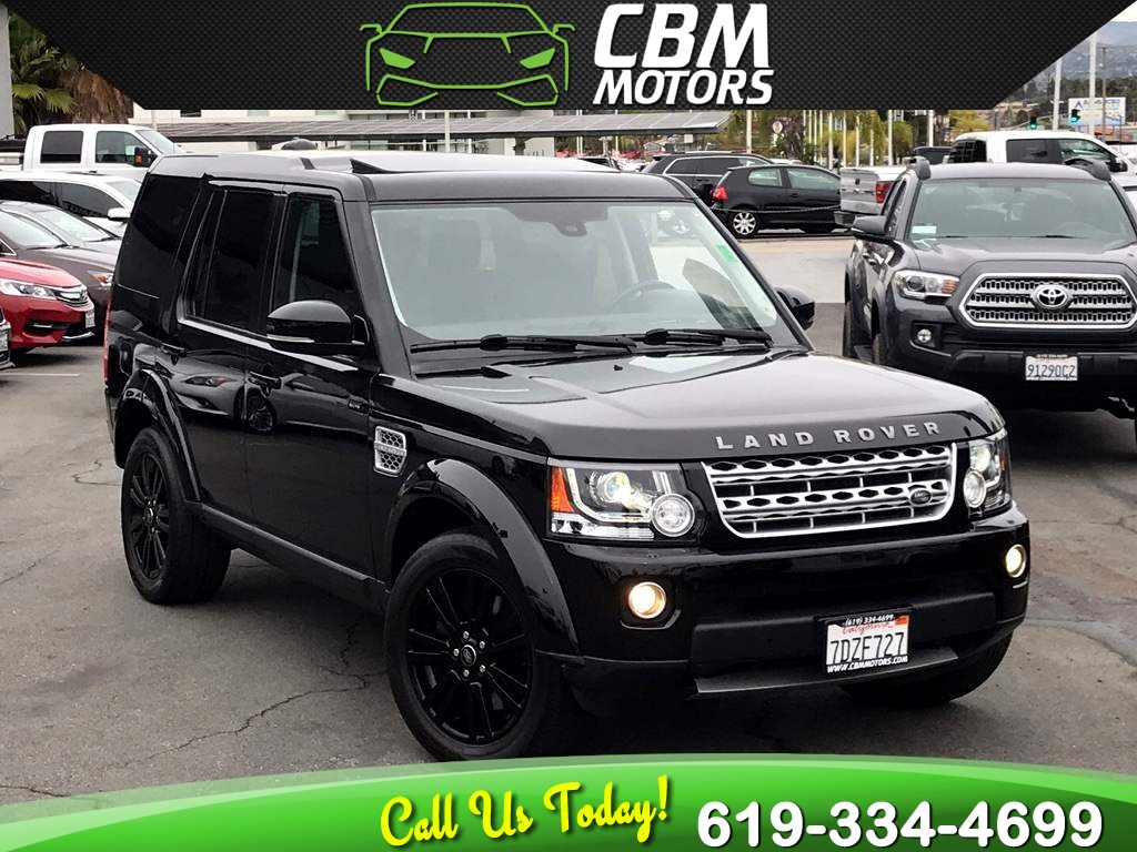 2014 Land Rover LR4 HSE LUX SUPERCHARGED 4X4 W/ DUAL MOONROOF/ NAV