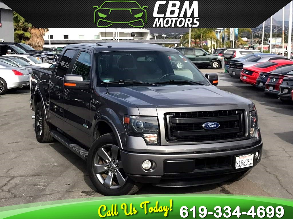 2014 Ford F-150 FX2 3.5L ECOBOOST W/ MOONROOF/ NAV/ BACK UP CAMERA