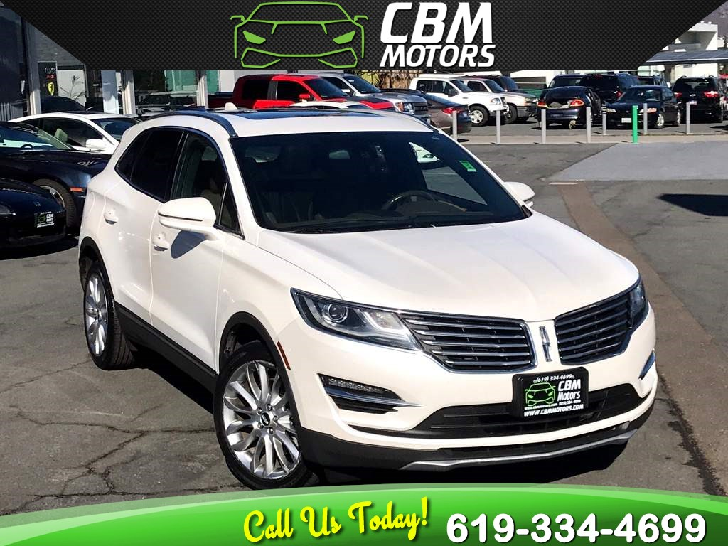 2015 Lincoln MKC ECOBOOST W/ PAN MOONROOF/ NAV/ BACK UP CAMERA