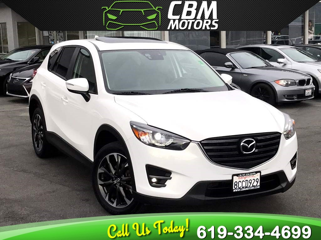 2016 Mazda CX-5 Grand Touring W/ TECK PKG/ MOONROOF/ NAV