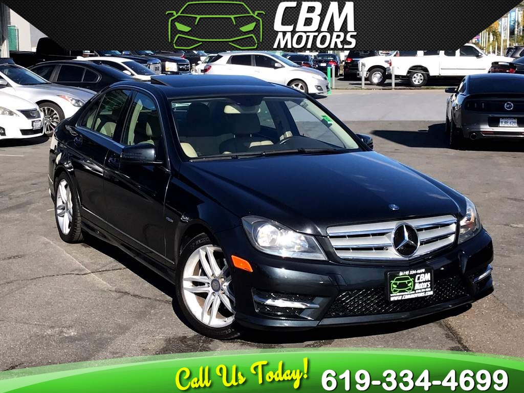 2012 Mercedes-Benz C 250 C 250 Sport TURBOCHARGED W/ MOONROOF/ NAVIGATION