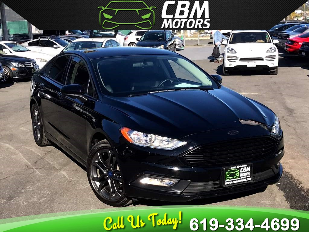2018 Ford Fusion SE TURBOCHARGED W/ BACK UP CAMERA/ BLUETOOTH
