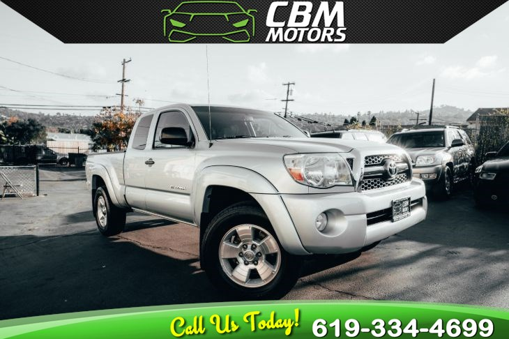 2011 Toyota Tacoma V6 SR5 4X4 6-SPEED MANUAL/ LONG BED/ BACK UP CAM