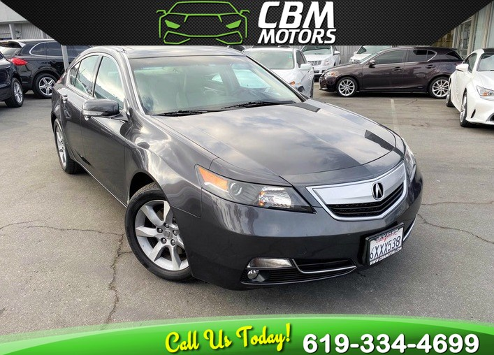 2013 Acura TL W/ MOONROOF/ BLUETOOTH/ 1 OWNER