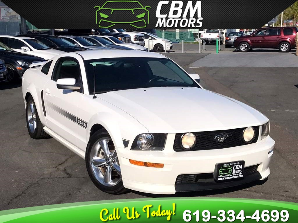 2007 Ford Mustang GT Premium V8 5-SPEED MANUAL W/ CLEAN CARFAX